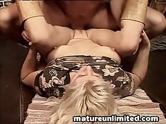 Profane mom swallow slay rub elbows with sperm