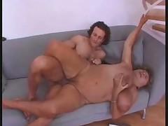BBW granny fist and fuck