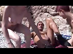 Beach Foursome Part 1 of 2