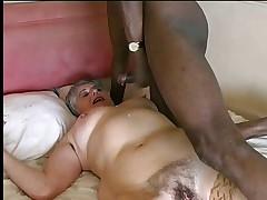 Granny Interracial