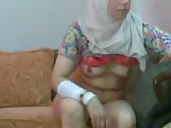 Dispirited arab