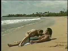 Anal on the beach
