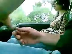 Italian fuck in car