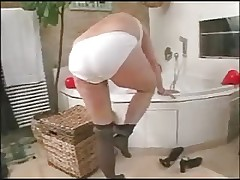 German milf and younger boy