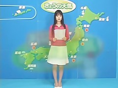The Japanese weather program bukkake