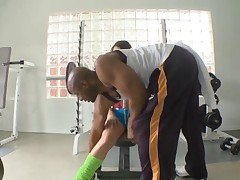 MASSIVE BBC DESTROYS ASS IN THE GYM