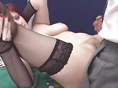 Flimsy italian mature anal troia inculata takes hard cock in the ass throughout the way tits