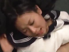 Schoolgirl Fucked By 2 Schoolguys Facial And Cum To Mouth..