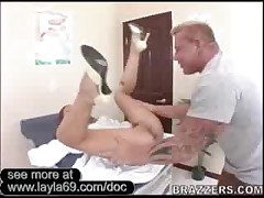Sexy Doctor Rides And Cums All Over Hard Cock