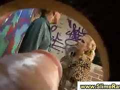 Glamorous Babes Suck Plastic Cock In Reality Gloryhole Sex