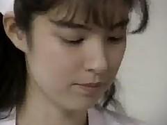 Asian Nurse From Japan Enjoys Her Doctor Visit