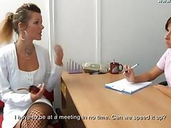 Secretary Gyno Exam