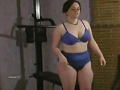 Chubby Hairy Hot Women In The Gym