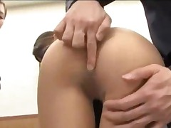2 Office Ladies In Pantyhose Getting Their Pussies Stimulated..