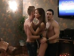 Students Group Sex Fucking In Sauna