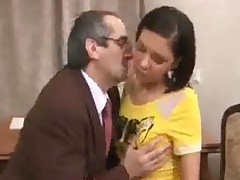 Old Teacher Does His Teen Student Doggy Style
