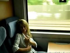 Fuck At Train Restroom