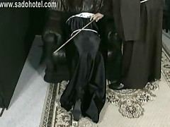 Nun Slave Praying For Mercy Is Spanked By Master Priest..