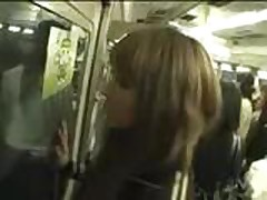 Train Voyeur Sex in Public