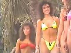 Julie Clarke - 1989 Venus Swimwear Contest