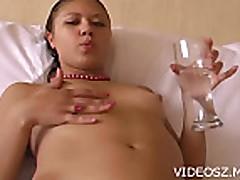 Solo Chick and Wet Pussy