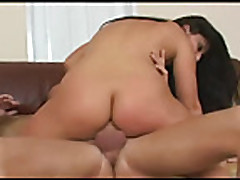 big butt chick loves a big cock in her ass