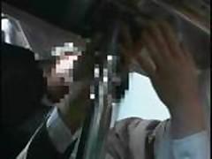 Bullet Train Stewardess VIP Fuck