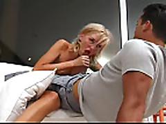 hot blonde fucking