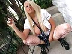 Candy Manson Smoking