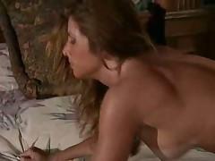 Girl fucked from behind in erotic scene