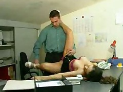 Another Arab fucked in the office