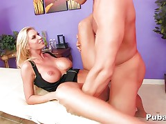 Brooke gives a massage with a happy ending