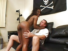 Ebony slutbitch at work
