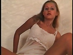 Young blonde seduces 1