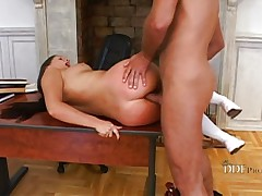 Yvette Balcano spanked and ass nailed