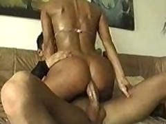Hot beach spoil pick up anal threesome