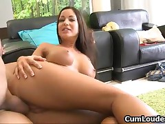 Stunning Euro Pornstar Loves Riding A Big Dick With Her Tight Ass By CumLoudest