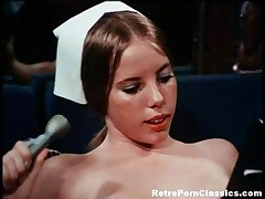 Linda Lovelace - Classic Pornstar Linda Lovelace Shaves Her Pussy