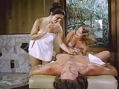 Candida Massage Table Threesome