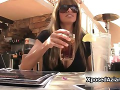 Kristi - Nice Looking Girl Kristi Is Showing Her Big Tits In Public By XposedAziani