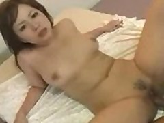 Busty Asian Rides The COCK!