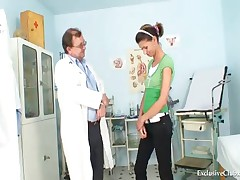 Angela - Angela Have Pussy Speculum Examined By Gyno Doctor
