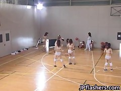 Japanese Amateurs Play Half Naked Basketball 2 By JPflashers