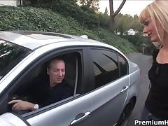 Darryl Hanah - Blonde Mom Darryl Hanah Seduced, Fucked Up And Got Her Mouth Filled