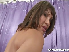 Ava Devine - Ava Gets Plastered In Cum