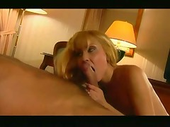 Dude orders a nice plate of pussy from room service