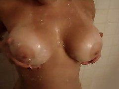 Big beautiful natural young wet boobs