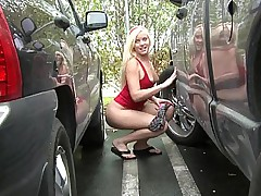Double fucked by two mates