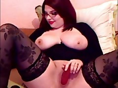 This mature woman loves sexy lingerie