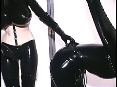 Anastasia Pierce Loves Rubber Bondage